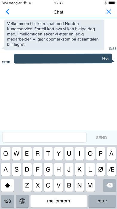 Få hjelp via chat