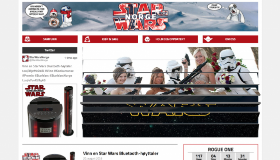 starwarsnorge screen