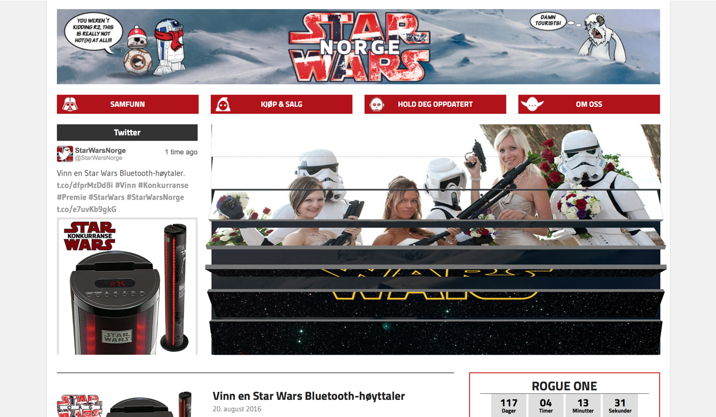 Star Wars Norge